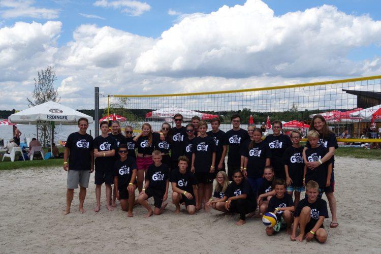 Volleyballausflug zum Steinberger See