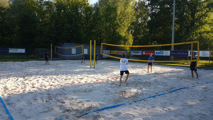Plattlinger Volleyballer trainieren wieder